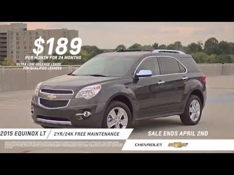 2015 Chevy Equinox LT Commercial