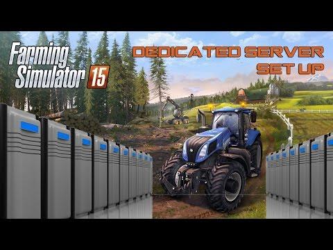 HOW TO? Set up Dedicated Server for Farming Simulator 15? Tutorial
