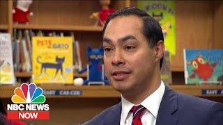 2020 Hopeful Julian Castro Touts Nationalizing Pre-K | NBC News NOW