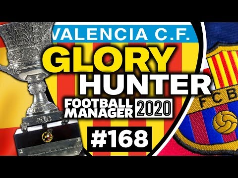 GLORY HUNTER FM20 | #168 | SPANISH CUP FINAL DRAMA | Football Manager 2020