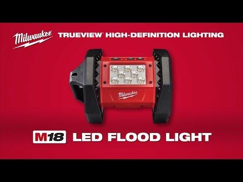 Milwaukee M18AL-0 18v Trueview Area Light Bare Unit