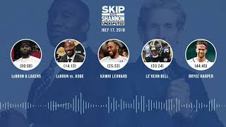 UNDISPUTED Audio Podcast (7.17.18) with Skip Bayless and Shannon Sharpe   UNDISPUTED