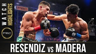 Resendiz vs Madera HIGHLIGHTS: April 20, 2021 | PBC on FS1