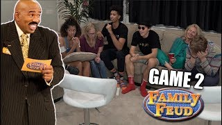 Family Feud vs. JesserTheLazer - FUNNIEST FAMILY GAME EVER! Game 2