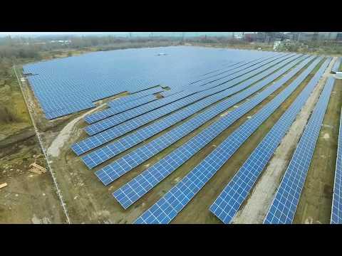 TIU Canada Nikopol Solar power plant video
