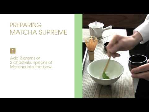 JING Tea - Preparing Japanese Matcha Supreme