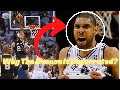 Why Tim Duncan Is Underrated - How He Became The Greatest Power Forward Ever!