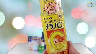 Học tiếng Nhật trong thực tế_Mỹ phẩm chăm sóc da của Nhật