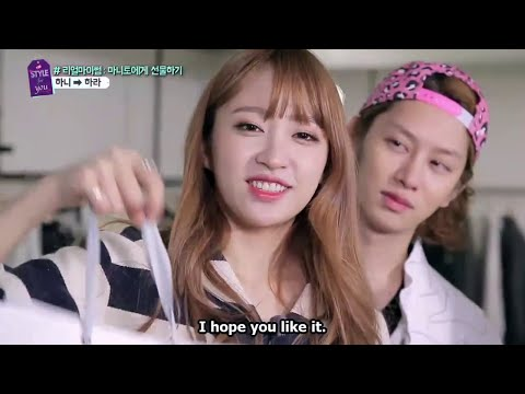 [Eng Sub]EXID Hani/funny cuts from A Style For You EP.8