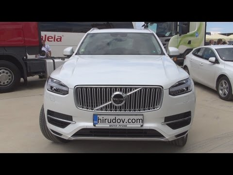 Volvo XC90 R-design T8 AWD Auto (2016) Exterior and Interior in 3D