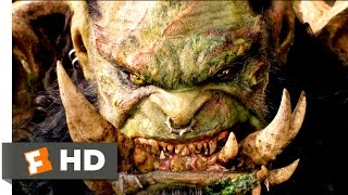 Warcraft - Lothar vs. Blackhand Scene (10/10) | Movieclips