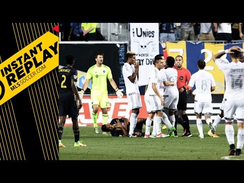 Instant Replay: Should Roger Espinoza have seen red?
