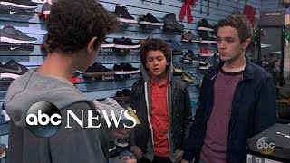 Teen boy is picked on for not being able to afford new clothes  | What Would You Do? | WWYD
