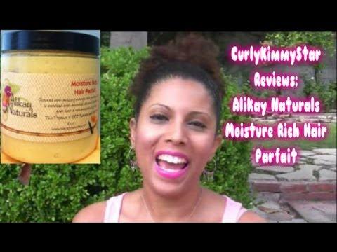 Alikay Naturals Moisture Rich Hair Parfait Review