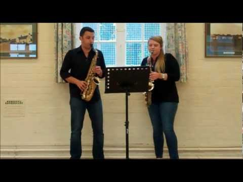 Double Vision Duets - for saxophones