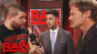Chris Jericho & Kevin Owens explain why they're a superior tag team: Raw, Aug. 15, 2016