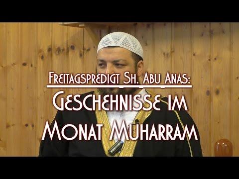 GESCHEHNISSE IM MONAT MUHARRAM mit Sh. Abu Anas am 16.10.2015 in Braunschweig