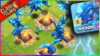 "THE NEW ""ELECTRO DRAGON"" x9!!! Clash of Clans UPDATE HYPE"