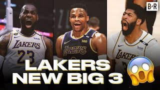 Russell Westbrook Trade Forms New Lakers Big Three With LeBron James & Anthony Davis