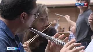 В Омской филармонии проходят финальные репетиции концерта-бенефиса известной пианистки Марины Костериной