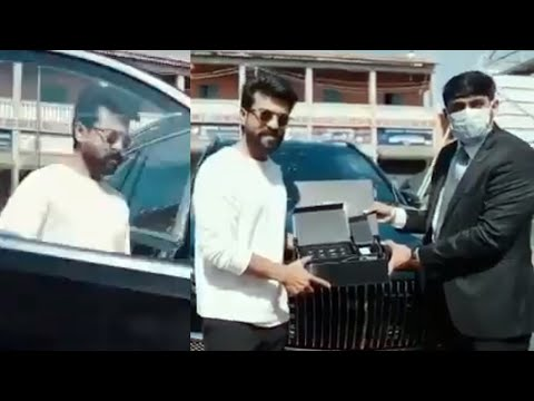 Watch: Ram Charan owns India's first customised Mercedes-Benz Maybach