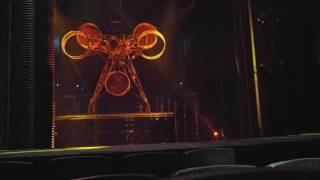 Open house tour of Cirque de Soleil's Ka Theatre at MGM Grand