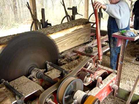 Saw Mill For Sale >> Frick Sawmill at Friends of Farm Show - YouTube