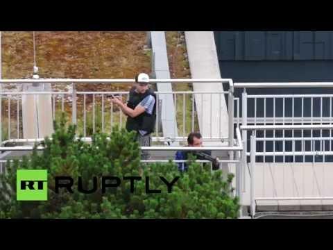 Vídeo mostra polícia em ação contra atiradores de Munique; veja