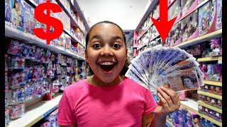 TIANA SPENDS £200 In 10 MINUTES! Toy Hunt Shopping Challenge