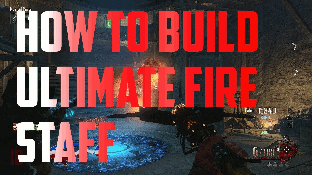 How To Build Ultimate Fire Staff Red Staff Challenge Guide