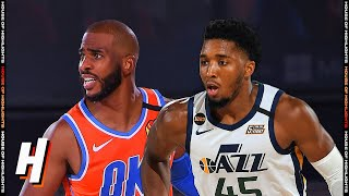 Utah Jazz vs OKC Thunder - Full Game Highlights | August 1, 2020 | 2019-20 NBA Season