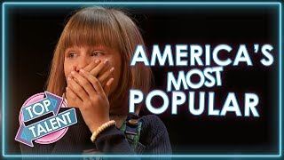 BEST OF THE US! Most Popular Acts on America's Got Talent, X Factor and Idol   Top Talent
