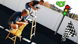 Drag Racing with Random Objects!!
