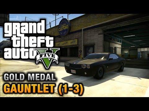 GTA 5 - Mission #74 -  Gauntlet (1-3) [100% Gold Medal Walkthrough]