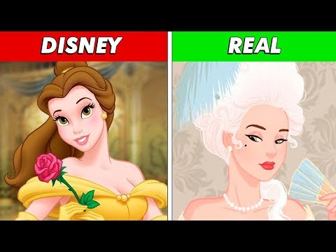 Asi Es Como En Realidad Debian Verse Las Princesas De Las Peliculas Disney - Los mejores Top 10