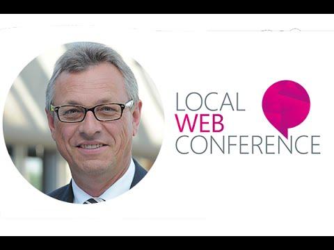 Rede: Begrüßung von Siegfried Schneider zur Local Web Conference