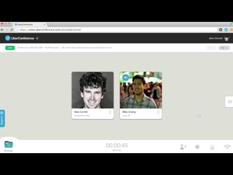 UberConference - Web Tutorial