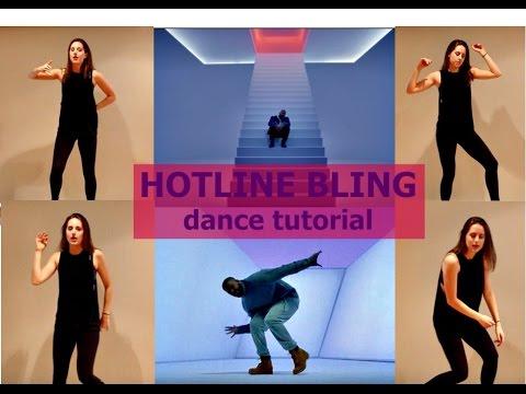 Drake 'HOTLINE BLING' Dance Tutorial   andreakswilson