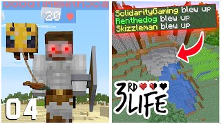 SO MANY DEATHS! - Minecraft 3rd Life SMP - Ep.4