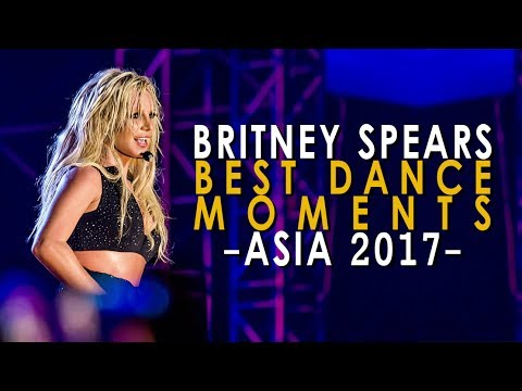 Britney: Live In Concert - The BEST Dance Moments! (2017 Compilation)
