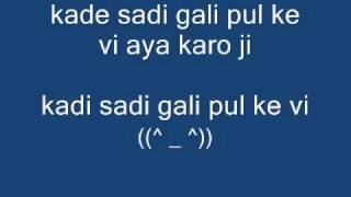 SADI GALI LYRICS ♥ TANU WEDS MANU HD HQ LYRICS ON SCREEN