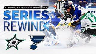 SERIES REWIND: Blues down Stars in seven-game thriller