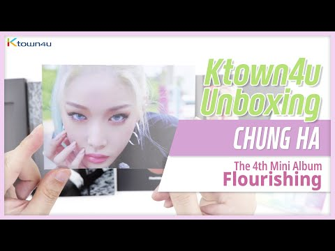 🎁Unboxing & Giveaway CHUNG HA