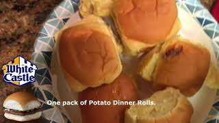 How to make white castle burgers at home