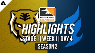 Seoul Dynasty vs Dallas Fuel | Overwatch League S2 Highlights - Stage 1 Week 1 Day 4