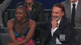 Talking Dead 7x01 - Danai Gurira cut (TWD 100th ep celebration)