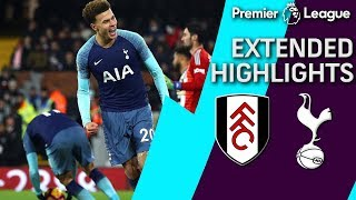 Fulham v. Tottenham | PREMIER LEAGUE EXTENDED HIGHLIGHTS | 1/20/19 | NBC Sports