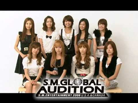 2009 S.M. Entertainment Global Audition