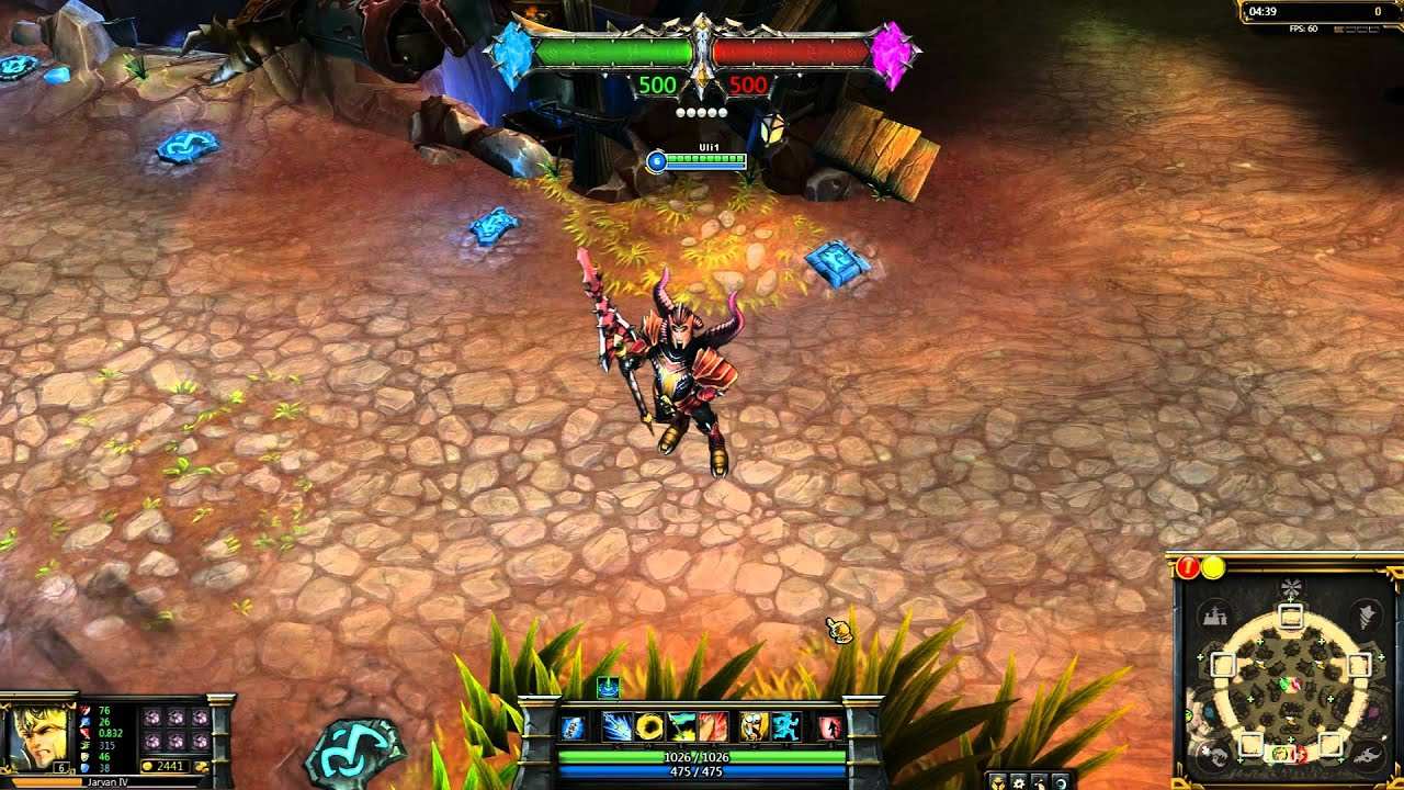 Dragon Slayer Jarvan IV League of Legends Skin Spotlight ...