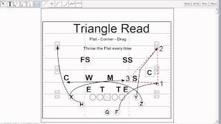 Mesh Pass Play in the Triangle Concept